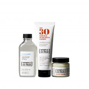 simple as that cleanser sunscreen and moisturiser